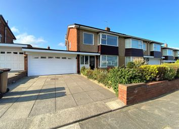 Thumbnail 3 bed semi-detached house for sale in Abbey Drive, Tynemouth, North Shields