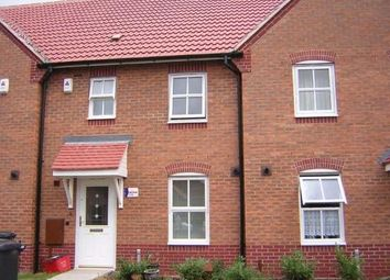 Thumbnail 3 bed town house to rent in Flannagan Way, Coalville