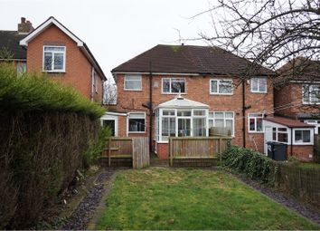Thumbnail 2 bed semi-detached house for sale in Duncroft Road, Sheldon, Birmingham