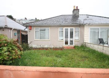 Thumbnail 2 bedroom semi-detached bungalow for sale in Laira Park Crescent, Plymouth