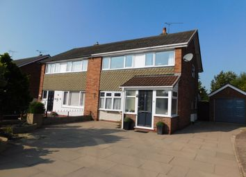 Thumbnail Semi-detached house for sale in Birch Avenue, Crewe