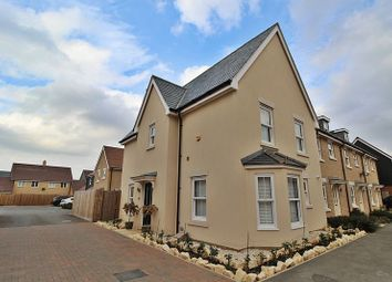 Thumbnail 4 bed end terrace house for sale in Parry Rise, Biggleswade