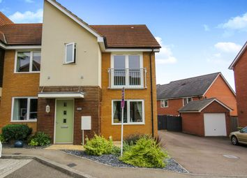 3 bed semi-detached house for sale in Kelly Gardens, Oxley Park, Milton Keynes MK4