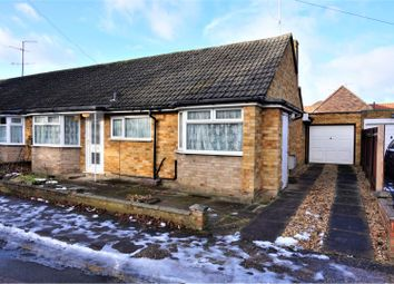 Thumbnail 3 bed semi-detached bungalow for sale in Cuffley Close, Luton
