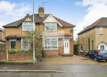 Thumbnail 2 bed semi-detached house to rent in Coniston Road, Luton