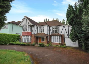 Thumbnail 5 bed detached house for sale in Meadow Way, Chigwell, Essex