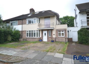 Thumbnail 4 bed semi-detached house for sale in Chalkwell Park Road, Enfield