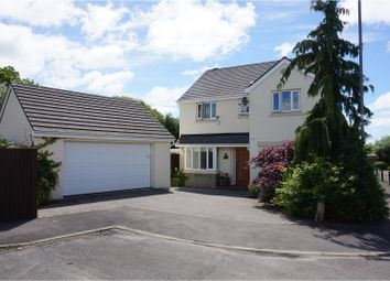 Thumbnail 4 bed detached house for sale in Badgers Brook Drive, Ystradowen