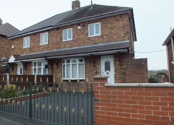 Thumbnail 2 bed semi-detached house for sale in Withington Road, Fegg Hayes, Stoke-On-Trent