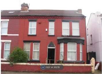 Thumbnail 8 bed semi-detached house to rent in Salisbury Road, Wavertree, Liverpool