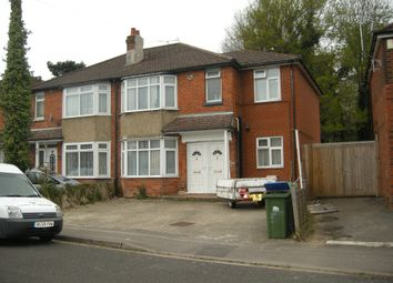 Thumbnail 4 bedroom terraced house to rent in Osborne Road South, Southampton