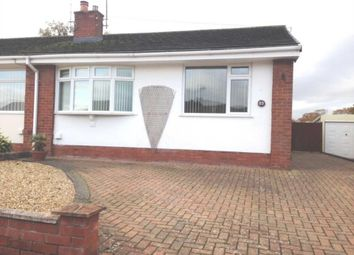 Thumbnail 2 bed semi-detached bungalow to rent in Birkdale Avenue, Buckley, Flintshire.