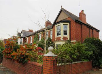 Thumbnail 4 bed end terrace house for sale in Stanwell Road, Penarth