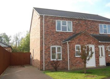 Thumbnail 2 bed semi-detached house to rent in Oaktree Meadow, Horncastle