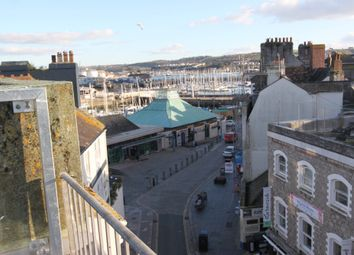Thumbnail 3 bedroom flat to rent in Quay Road, Plymouth