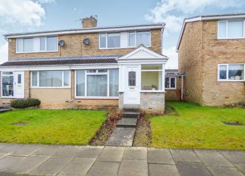 Thumbnail Semi-detached house for sale in Wilkwood Close, Cramlington