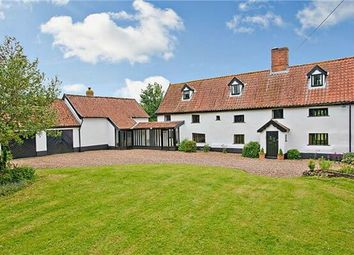 Thumbnail 5 bed detached house for sale in The Oak House, The Street, Tibenham, Norfolk