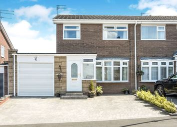 Thumbnail 3 bed semi-detached house for sale in Kenmoor Way, Chapel Park, Newcastle Upon Tyne