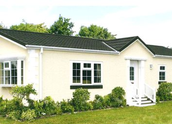 Thumbnail 2 bed mobile/park home for sale in The Paddock, Warboys, Huntingdon, Cambridgeshire