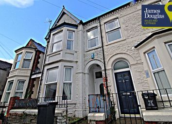 Thumbnail 4 bed terraced house for sale in Glenroy Street, Roath, Cardiff
