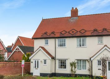 Thumbnail 2 bed semi-detached house for sale in Mellis Road, Yaxley, Eye
