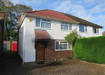 Thumbnail 3 bed property to rent in Hardy Close, Crawley