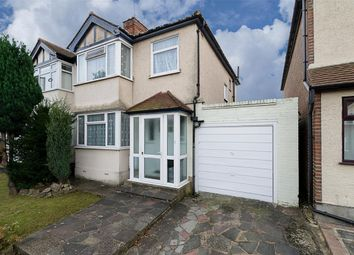 Thumbnail 3 bed semi-detached house for sale in Victory Avenue, Morden, Surrey
