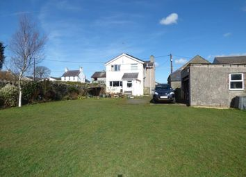 Thumbnail 3 bed detached house for sale in High Street, Bryngwran, Anglesey, .