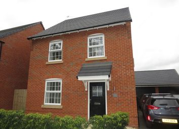 Thumbnail 3 bed detached house for sale in Moretons Meade, Walnut Avenue, Weaverham, Northwich
