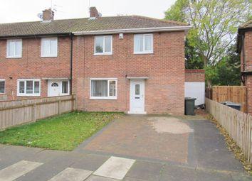 Thumbnail 3 bedroom semi-detached house for sale in Bowman Drive, Dudley, Cramlington