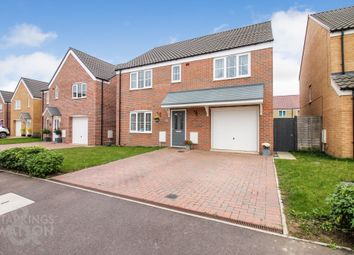 Thumbnail 5 bed detached house for sale in Howard's Way, Bradwell, Great Yarmouth