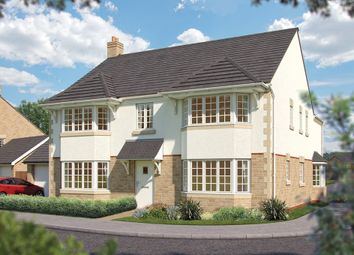 "Thumbnail 5 bedroom detached house for sale in ""The Ascot"" at Townsend Road, Shrivenham, Swindon"