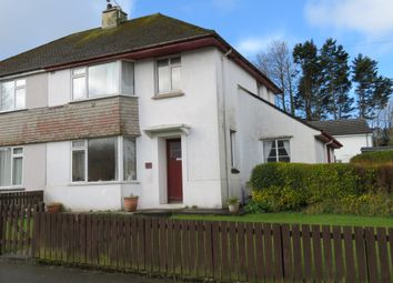 Thumbnail 3 bed semi-detached house for sale in Coombe Road, Treneere, Penzance
