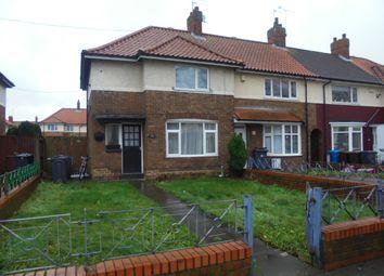 Thumbnail 3 bedroom end terrace house to rent in Ellerburn Avenue, Hull