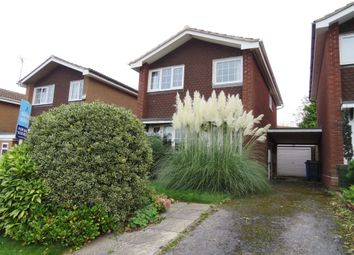 Thumbnail 3 bed detached house for sale in Tiverton Close, Mickleover, Derby