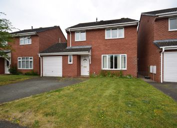 Thumbnail 4 bed detached house for sale in Barleyfields, Wem, Shrewsbury