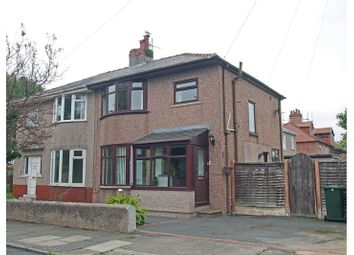 Thumbnail 3 bed semi-detached house for sale in Beulah Avenue, Bare, Morecambe