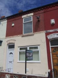 Thumbnail 2 bed terraced house to rent in Bartlett Street, Wavertree, Liverpool