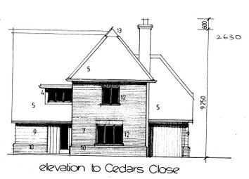 Thumbnail 4 bed detached house for sale in Plot 5, Cedars Close, Ixworth Road, Thurston