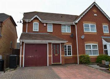Thumbnail 3 bedroom semi-detached house to rent in Sandhurst Close, East Hunsbury, Northampton