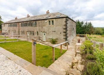 Thumbnail 3 bed barn conversion for sale in Wilshaw Road, Meltham, Holmfirth