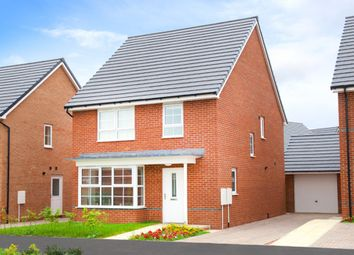 "Thumbnail 4 bed detached house for sale in ""Chesham"" at Fen Street, Brooklands, Milton Keynes"