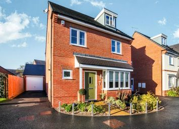 Thumbnail 4 bedroom detached house for sale in House Yard Close, Crewe, Cheshire