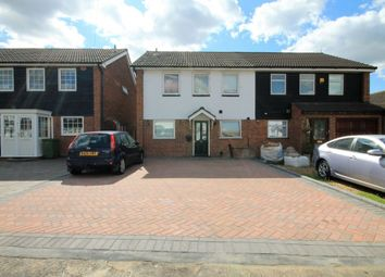 Thumbnail 4 bed semi-detached house to rent in Maytree Close, Rainham