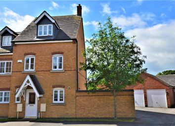 Thumbnail 4 bed semi-detached house for sale in Laughton Drive, Stamford