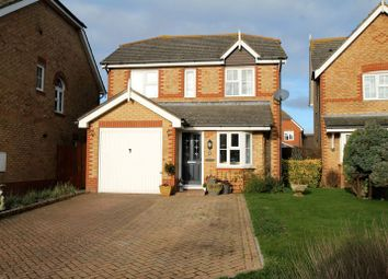 Thumbnail 3 bed detached house for sale in Gloster Close, Hawkinge, Folkestone