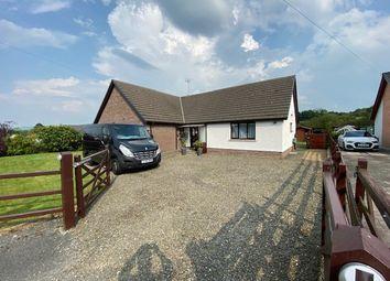 Thumbnail Detached bungalow for sale in Saron Road, Pentre-Cwrt, Llandysul