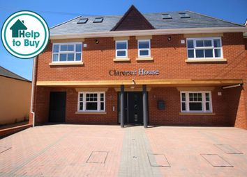 Thumbnail 1 bed flat to rent in Clarence Road, Fleet, Hampshire
