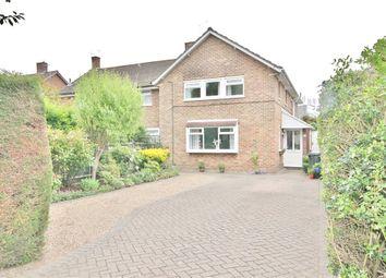 Thumbnail 4 bed semi-detached house for sale in Queen Elizabeth Way, Woking, Surrey