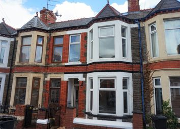Thumbnail 4 bedroom terraced house for sale in Inverness Place, Cardiff